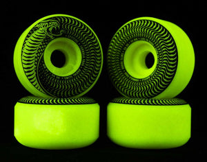 Spitfire Formula Four Venomous Radial Slim Glow 99d Wheels - 52mm