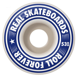 Real Gleams Team Oval Complete Skateboard - 8""