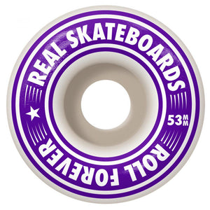 Real Team Oval Gleams XL Complete Skateboard - 8.25""