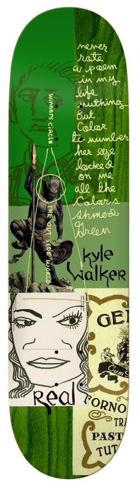 Real Walker Postcards From Mark Deck - 8.38