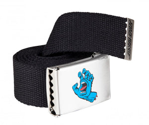 Santa Cruz Screaming Hand Belt - Black