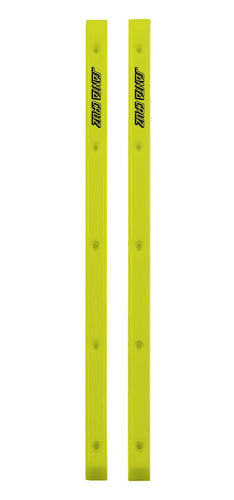 Santa Cruz Slimeline Rails - Neon Yellow