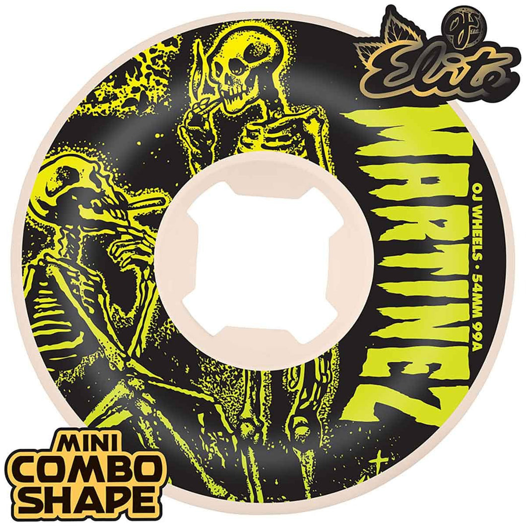 OJ Martinez Smoke Bros 2 Mini Combo 99a Wheels - 54mm