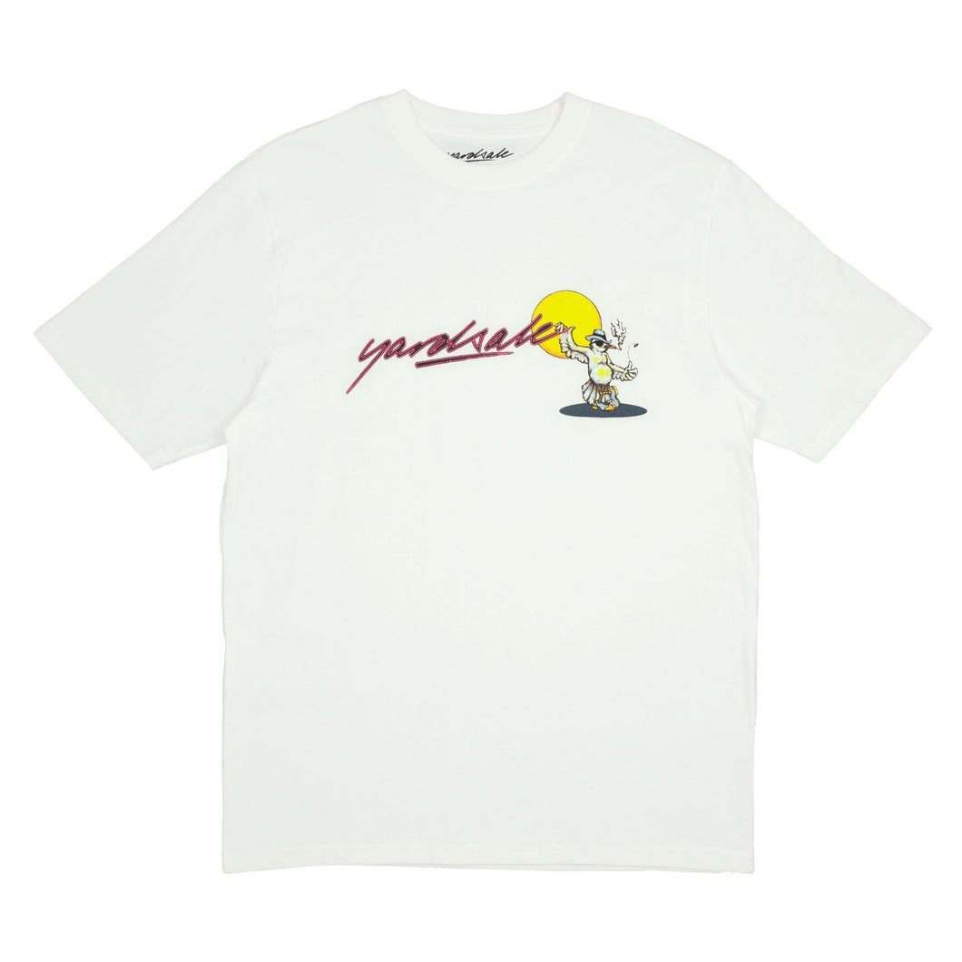 Yardsale Smoking Crow Tee - Off White