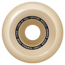Load image into Gallery viewer, Spitfire Allen Formula Four Conical Full 99d Wheels - 53mm