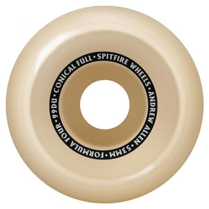 Spitfire Allen Formula Four Conical Full 99d Wheels - 53mm