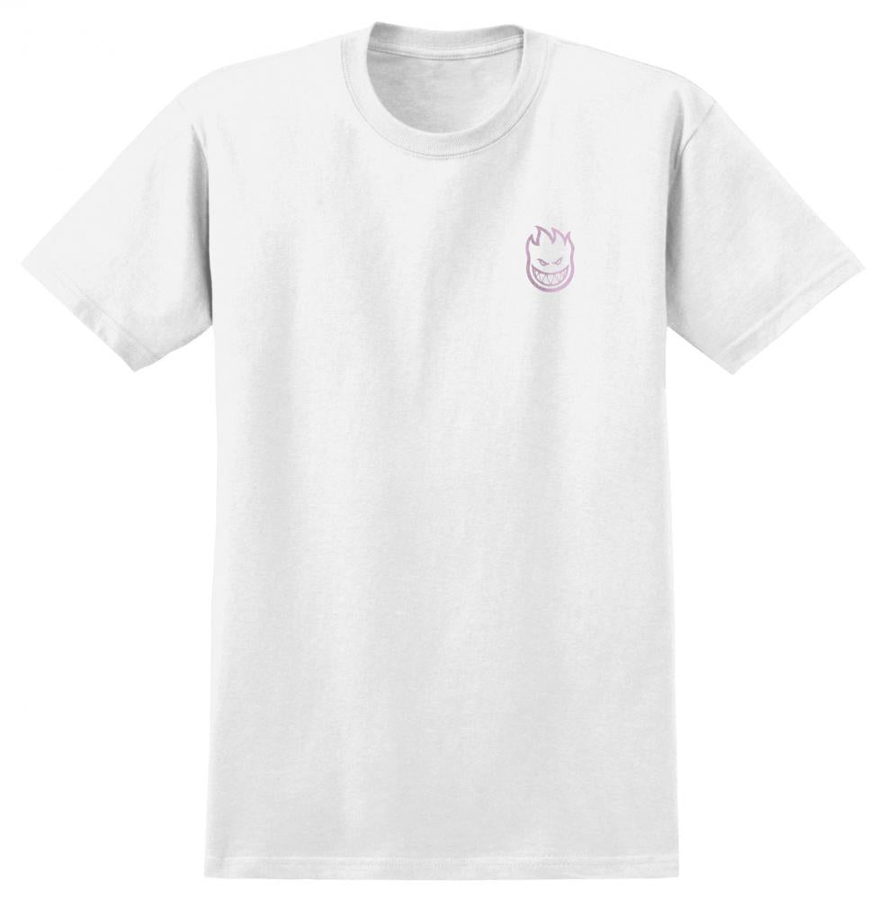 Spitfire Pool Service Classic Tee - White/Pink