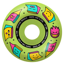 Load image into Gallery viewer, Spitfire Skate Like a Girl Formula Four Radial 99d Wheels - 53mm