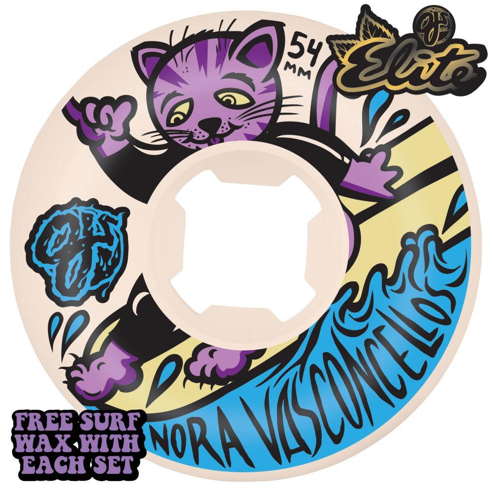 OJ Nora Surfs Up Mini Combo 101a Wheels - 54mm