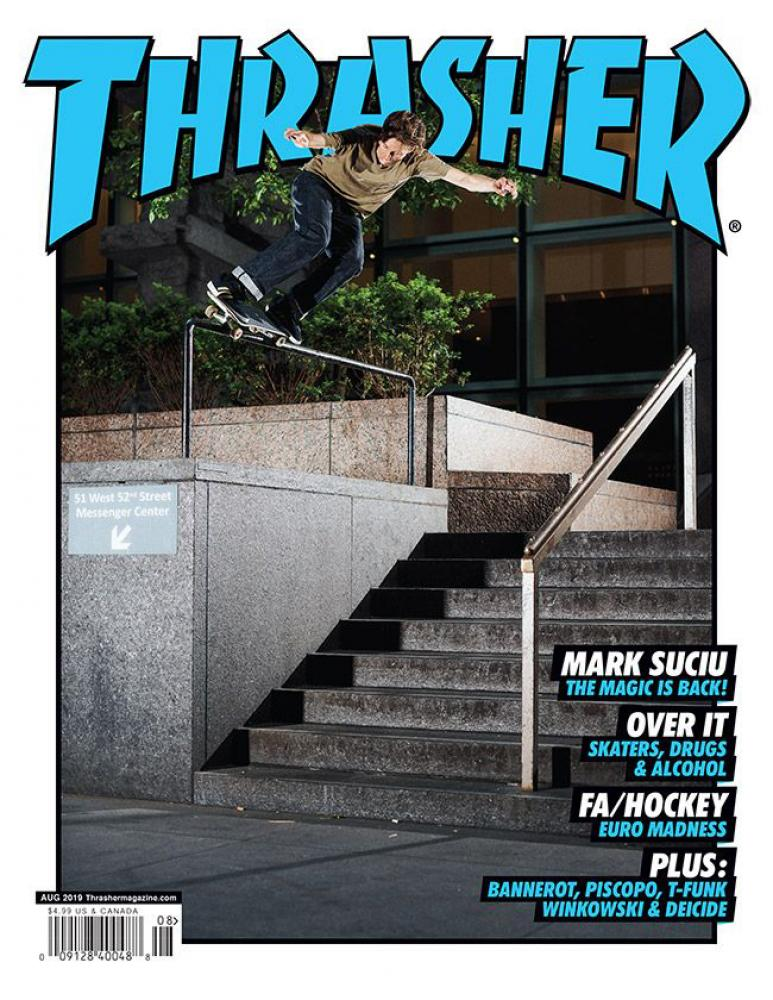 Thrasher Magazine - August 2019