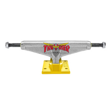 Load image into Gallery viewer, Thrasher x Venture 5.6 Polished/Yellow Trucks - (PAIR)