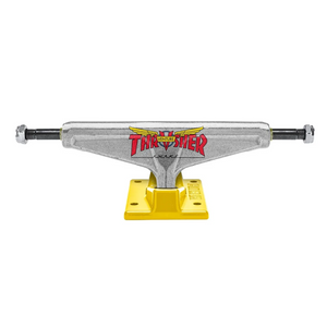 Thrasher x Venture 5.6 Polished/Yellow Trucks - (PAIR)