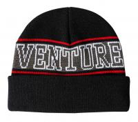 Venture Horizon Cuff Beanie - Black/Grey/Red