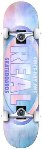 Real Oval Watercolour Complete Skateboard - 8
