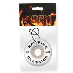 Spitfire Classic Wheel Air Freshener - Red/Black