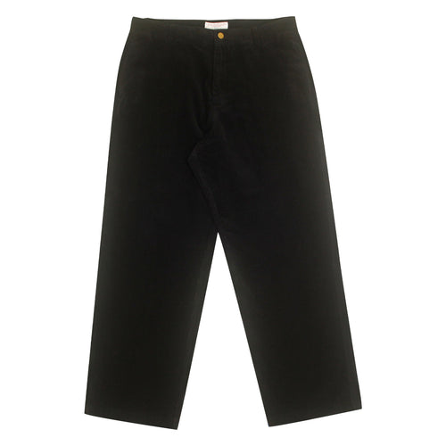 Yardsale Corduroy Slack Pants - Black