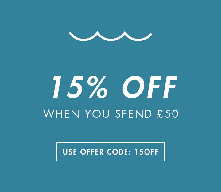 15% Off When You Spend £50