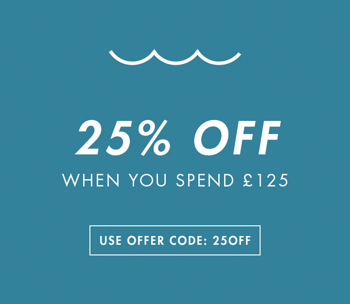 25% Off When You Spend £125