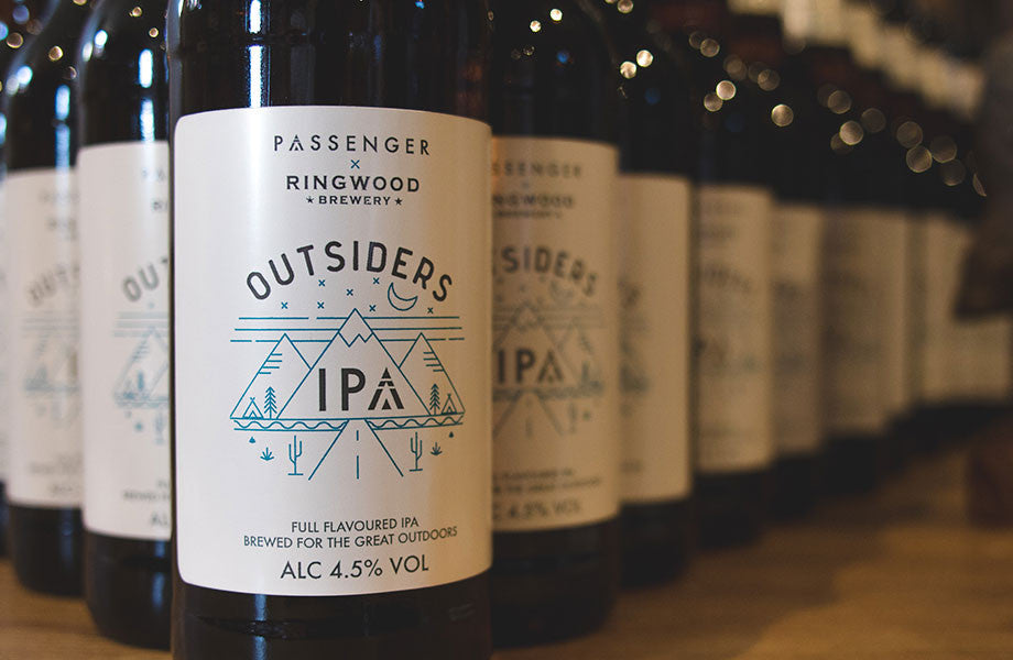Passenger x Ringwood Brewery Outsiders IPA collaboration