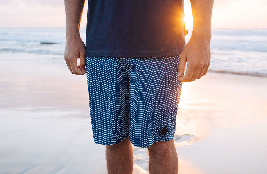 The Tide Is Turning - Hybrid Boardshorts