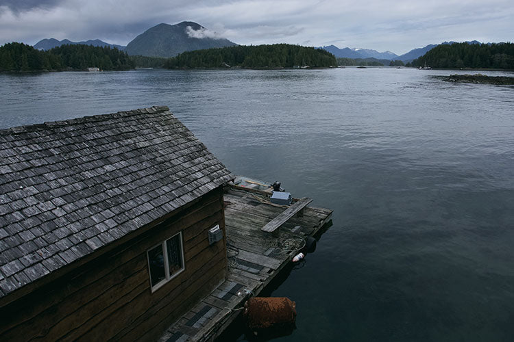 Tofino Float Boat House