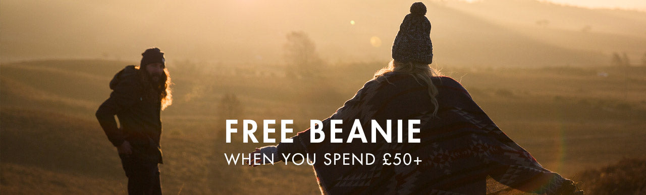 FREE BEANIE ORDERS OVER £50