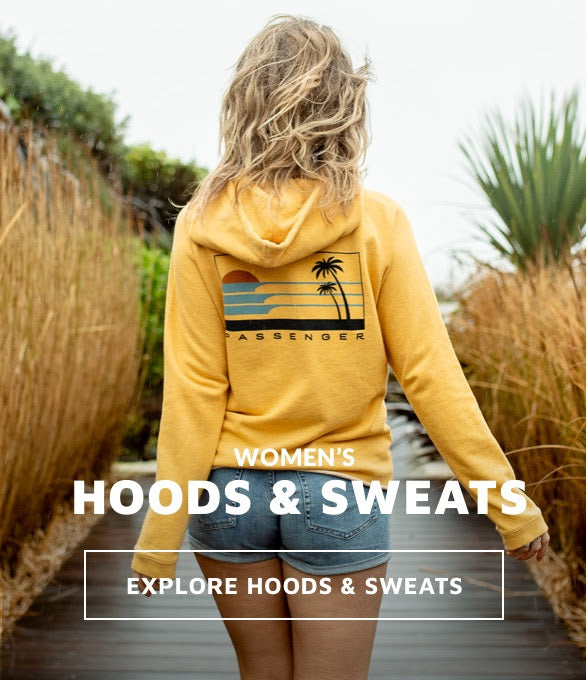 Womens hoodies and sweatshirts for adventure