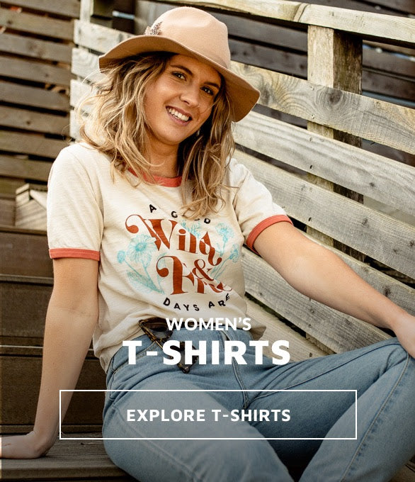 Womens T-Shirts inspired by travel
