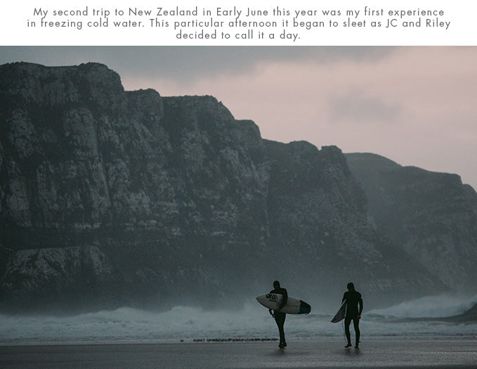 Mark Clinton, second trip to New Zealand in Early June this year was my first experience in freezing cold water