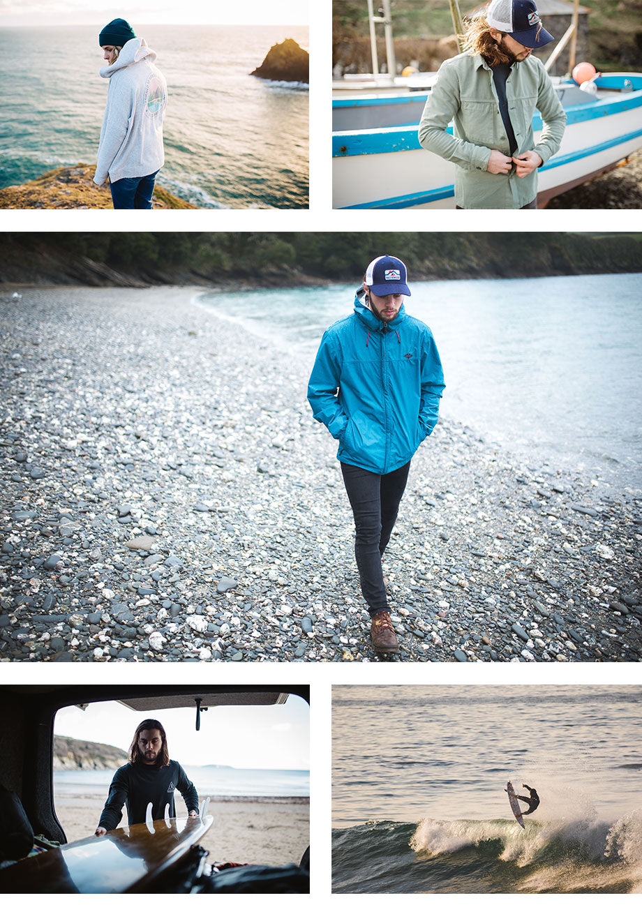 Passenger Clothing Lookbook Images - Surf