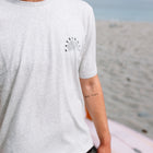 Lymington T-Shirt - Light Grey Marl