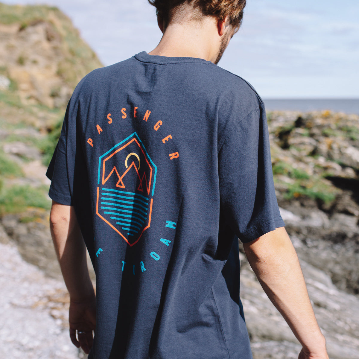 Guided T-Shirt - Blue Nights image 1
