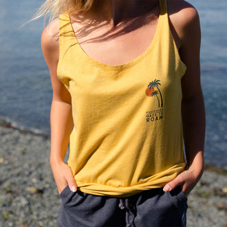 AURORA VEST - GOLDEN YELLOW MARL