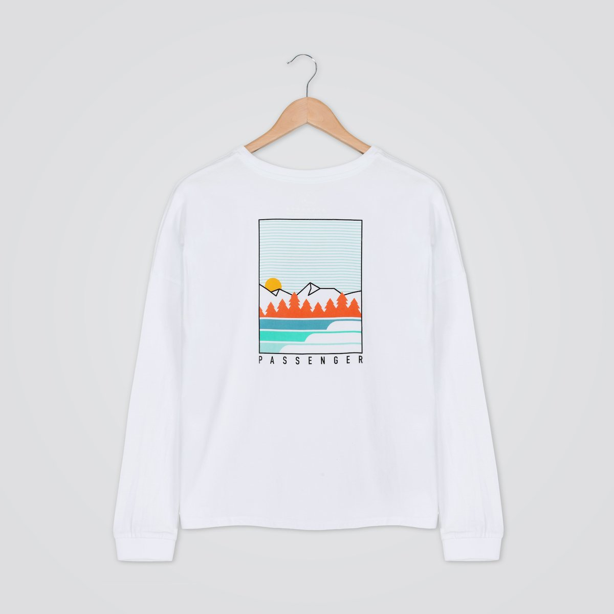 Travel More L/S T-Shirt - White image 10