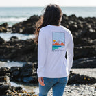 Travel More LS T-Shirt - White