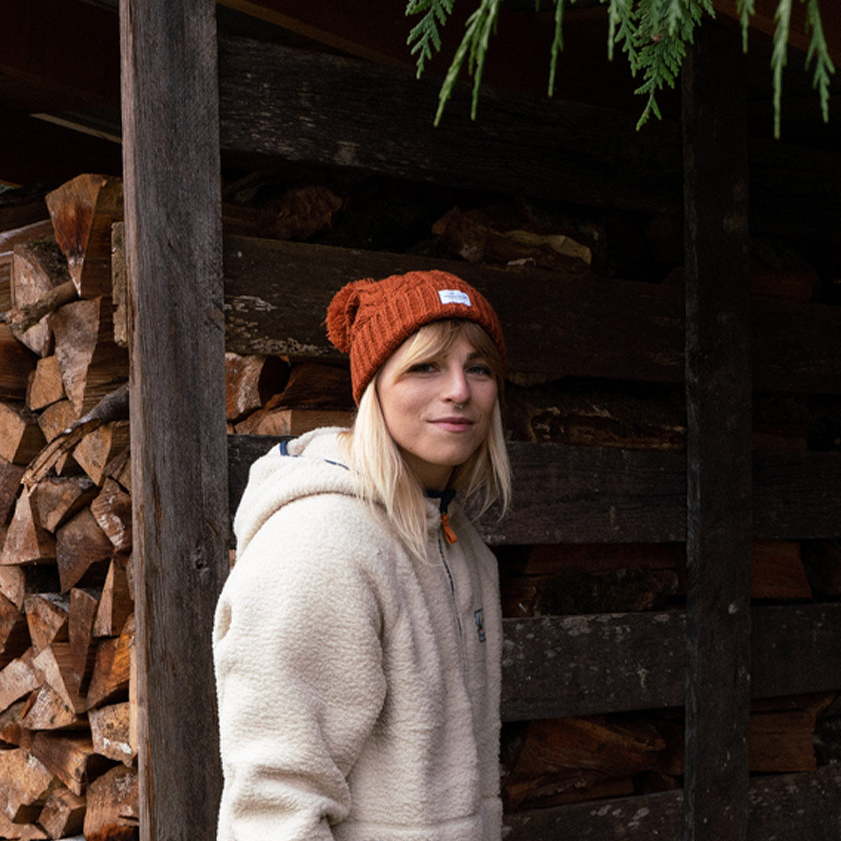 Stoke Bobble Hat - Rust image 5