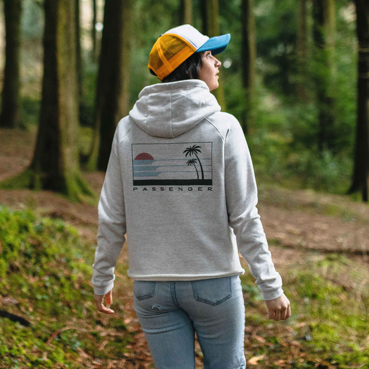 On The Move Hoodie - Birch Marl image 2