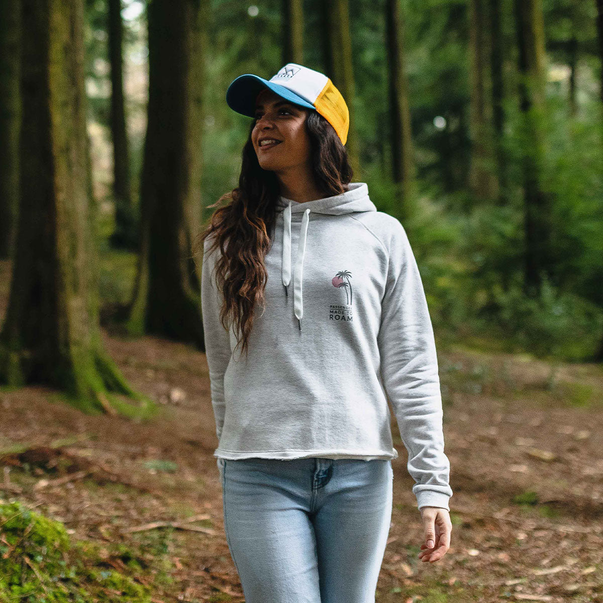 On The Move Hoodie - Birch Marl image 3