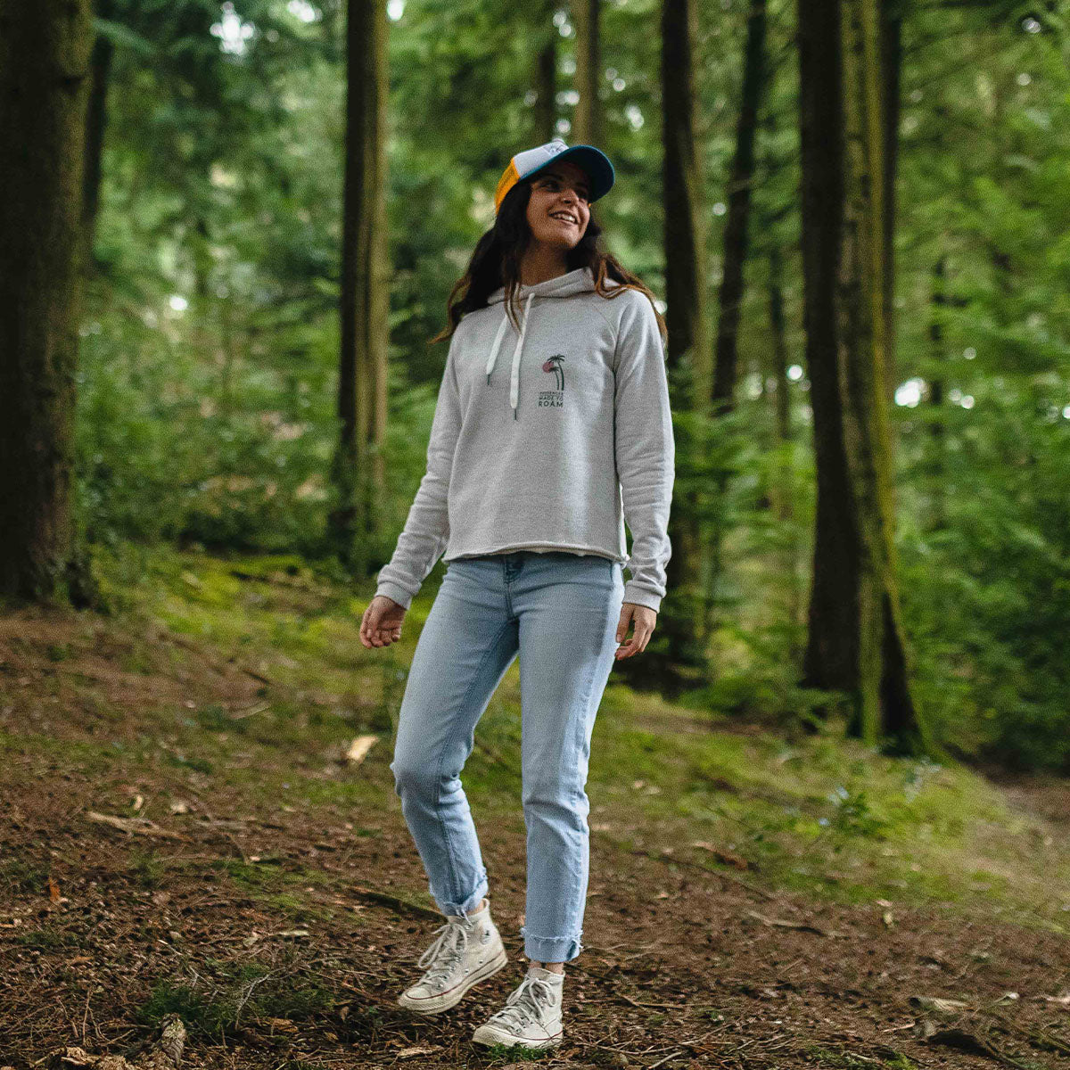 On The Move Hoodie - Birch Marl image 9