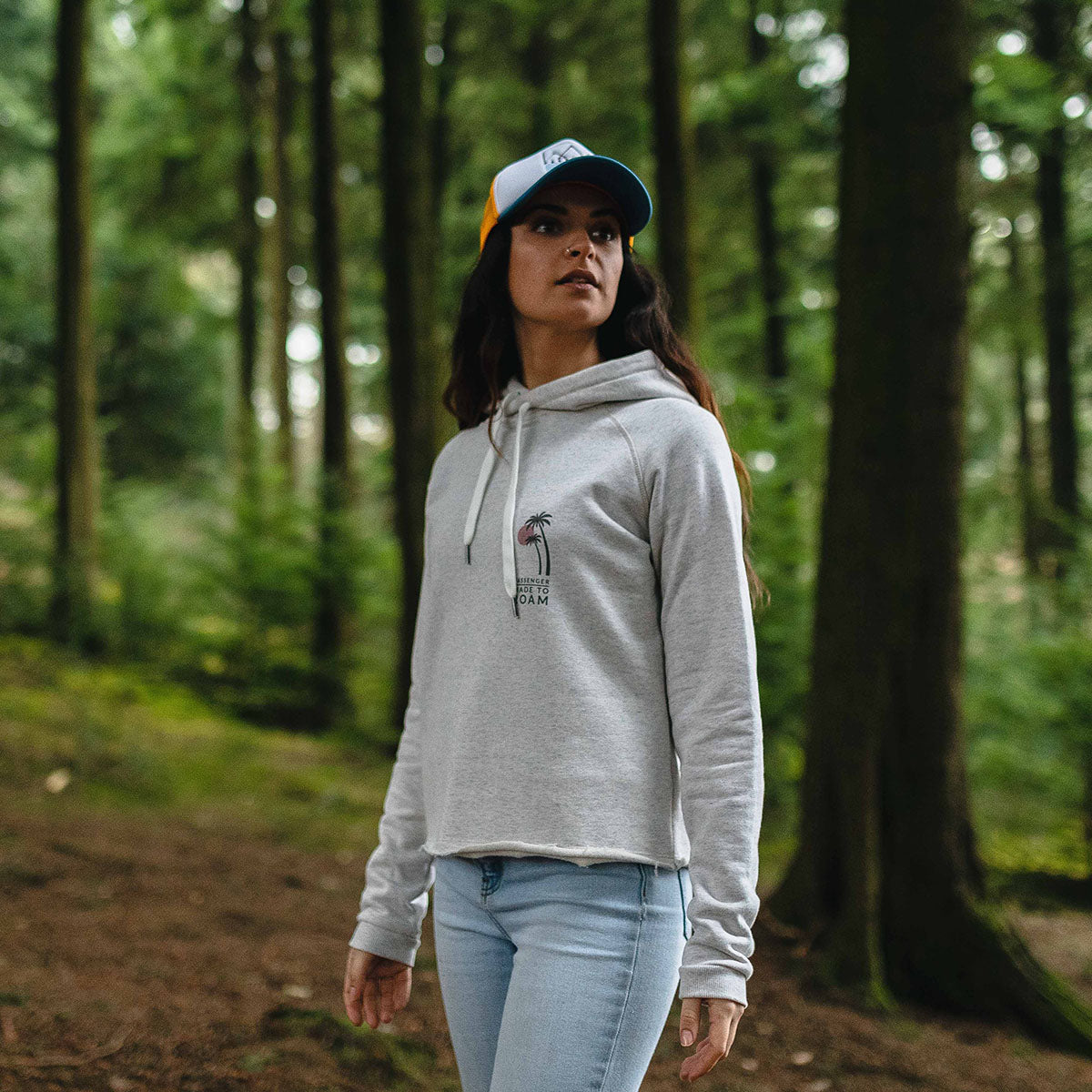On The Move Hoodie - Birch Marl image 8