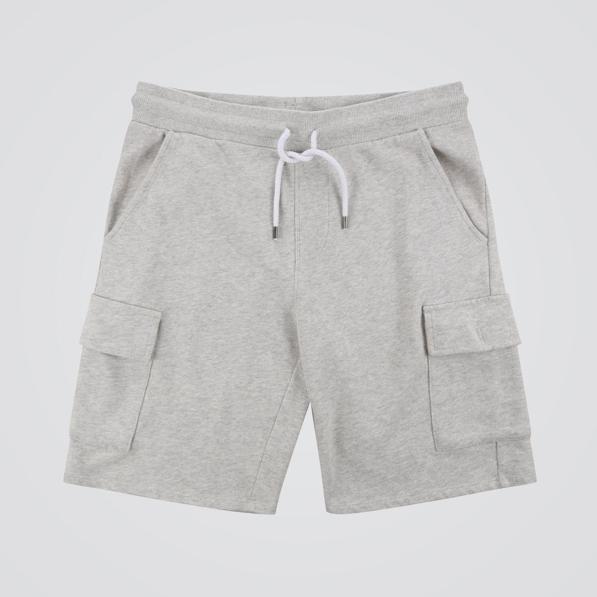 Tourer Jog Shorts - Grey Marl image 7