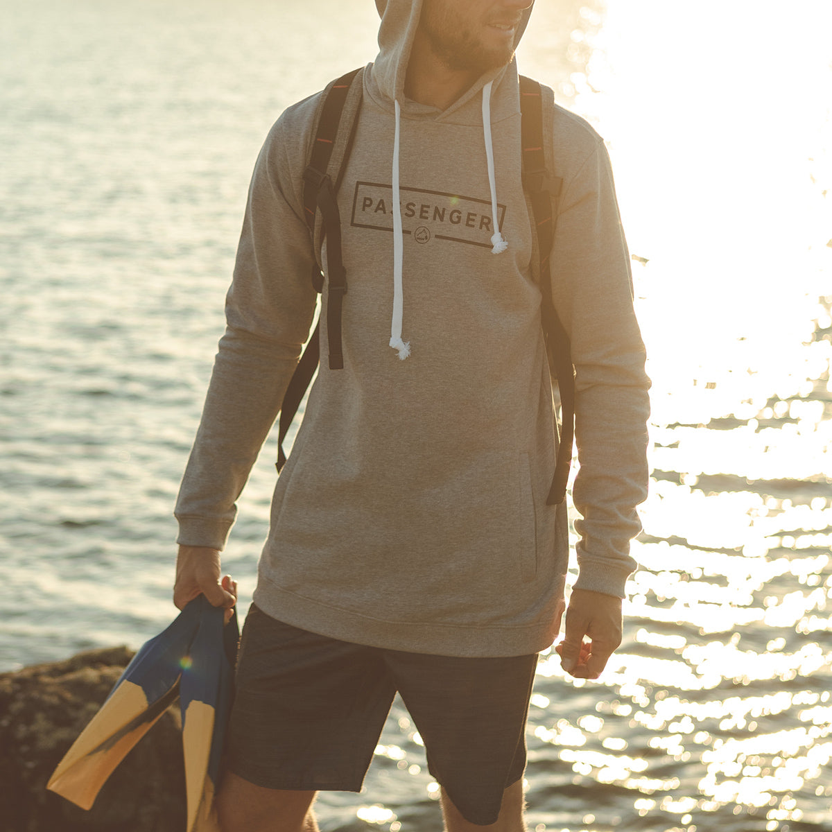 Campout Hoodie - Grey Marl image 4