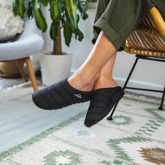 Soles Slipper - Solid Black