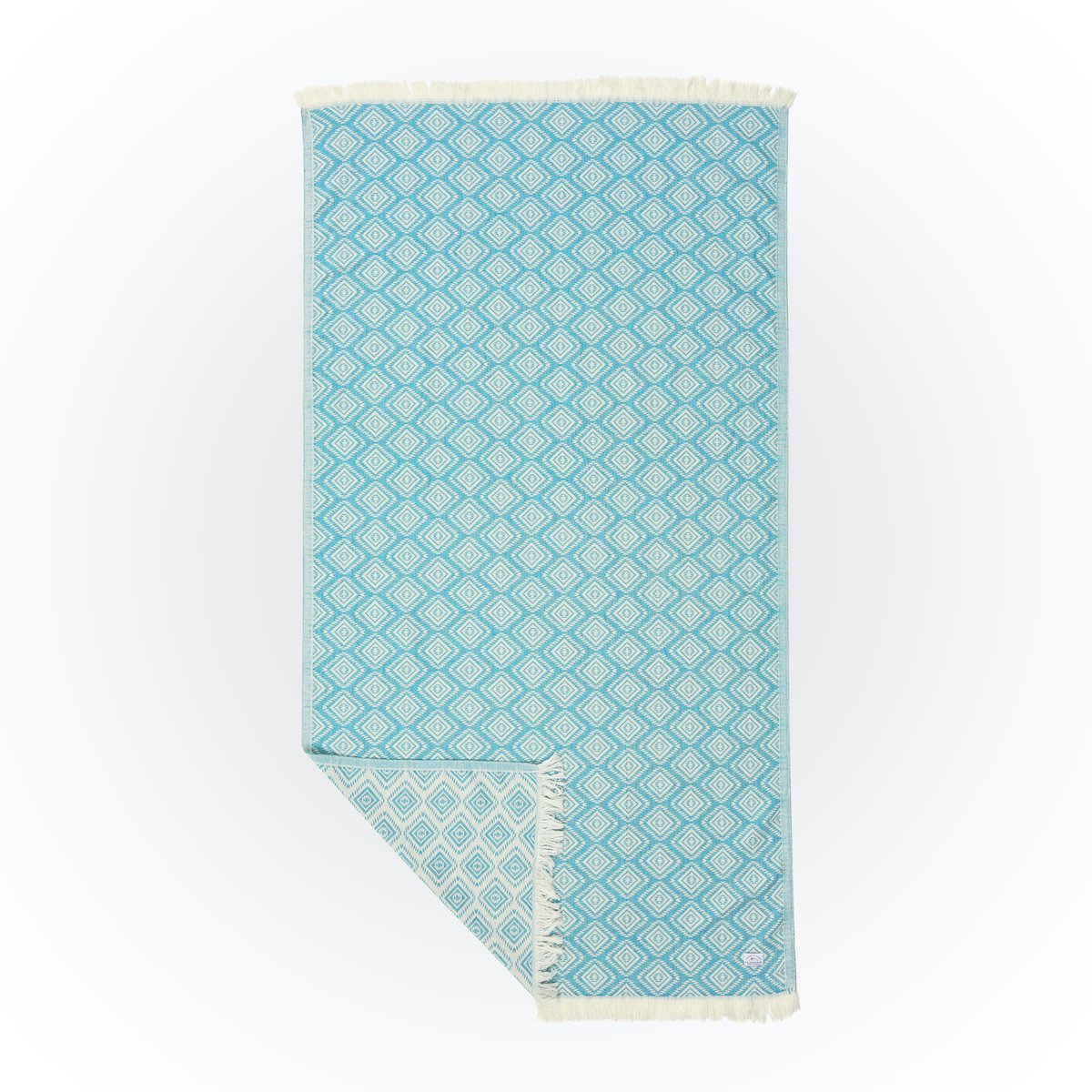Turkish Towel - Wilverley Turquoise image 2