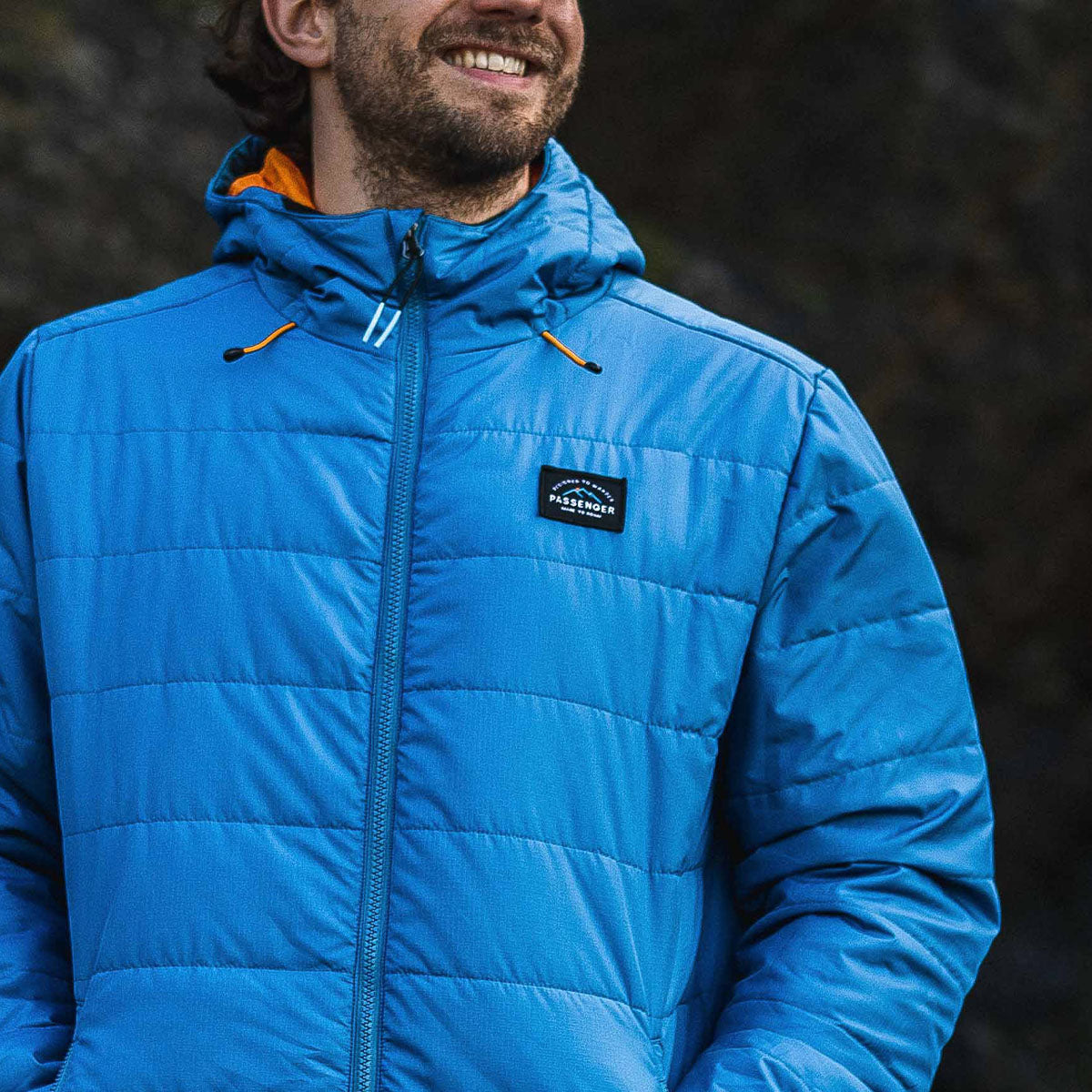 Patrol Insulated Jacket - Deep Water Blue image 3
