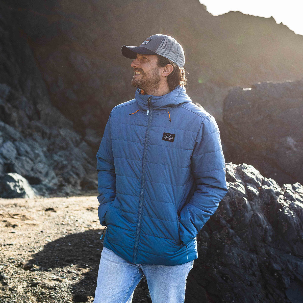 Patrol Insulated Jacket - Deep Water Blue image 1