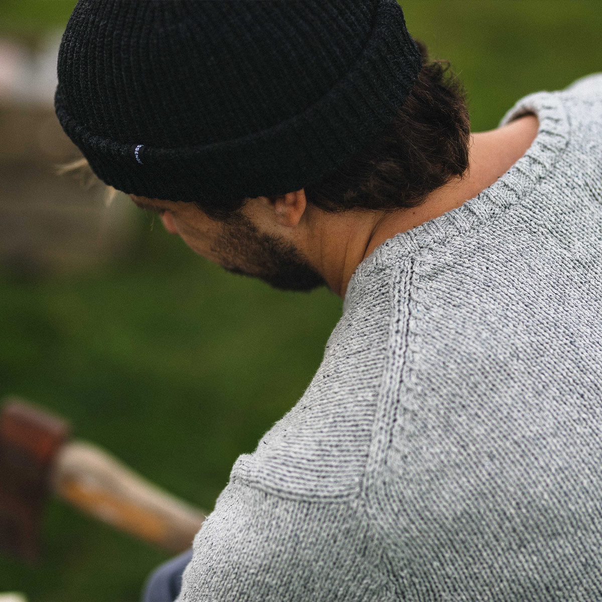 Highbanks Knitwear - Grey Fleck image 5