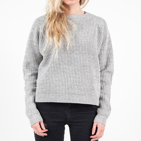 Pine Grey Women's Knitted Sweater | Travel Clothing