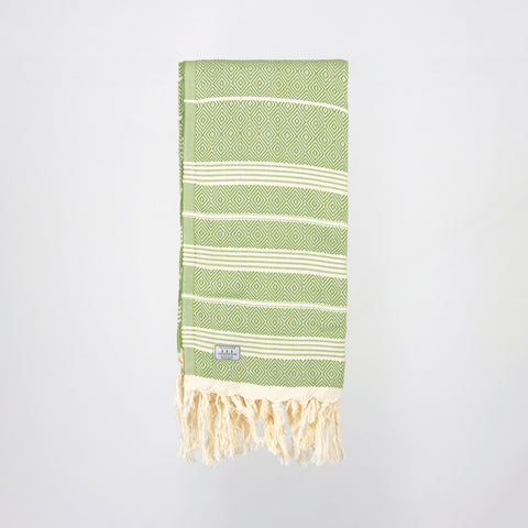 Hickory Turkish Towel - Green