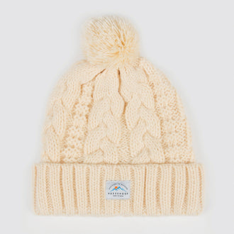 Hoga Bobble Beanie - Cream
